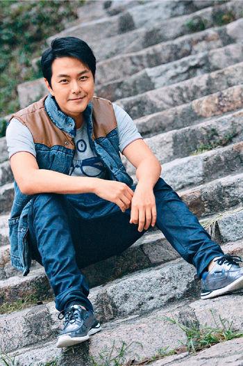 蕭正楠成為無綫今年掘金王之一,登台工作接不停,他表示要多謝《當旺爸爸》「阿Yap」一角。